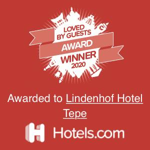 hotels.com Hotel Tepe Auszeichnung